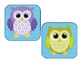 Owl Locker Tags
