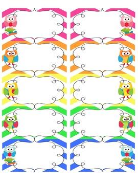 Owl Love Classroom Decor Bundle {White Background}