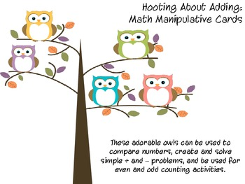 Owl Manipulative Cards