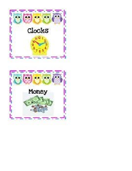 Owl Manipulative Labels