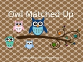 Owl Matched Up