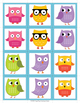 Owl Matching Cards