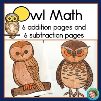 Owl Math Addition And Subtraction Within 20