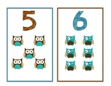 Owl Math Number Playing Cards - Addition, Subtraction.....