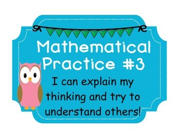 Owl Mathematical Practices