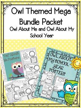 Owl Theme Classroom Bundle