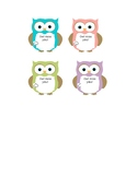 Owl Miss You Gift Tags!
