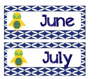 Owl Months
