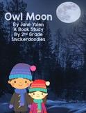 Owl Moon: A Common Core Book Study