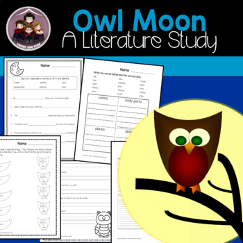 Owl Moon: A Literature Guide