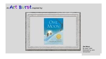 Owl Moon, Art Project, Discussion, Critical Thinking, Winter, Mood,Yolen