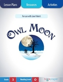 Owl Moon Lesson Plans & Activities Package, Third Grade (CCSS)