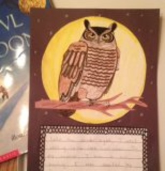 Owl Moon Literacy Extensions