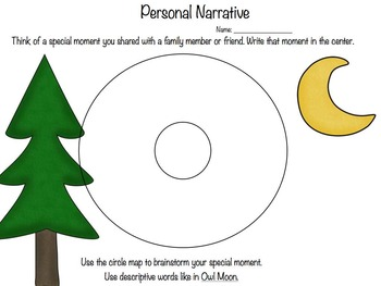 Owl Moon Personal Narrative Writing Unit