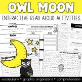 Owl Moon Interactive Read Aloud Kit