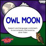 Owl Moon (Speech/Language Activities)