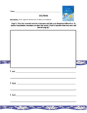 Owl Moon Visualization Worksheet