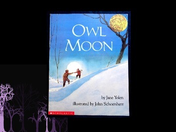 Owl Moon Vocabulary Visuals (for ELLs)