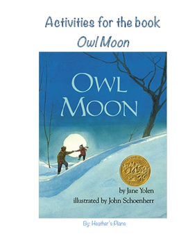 Owl Moon Writing and Reading Activities