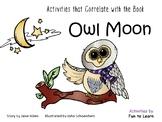 Owl Moon book by Jane Yolen
