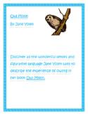 Owl Moon Figurative Language