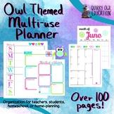 Owl Multi-use Planner Bundle