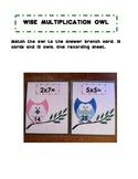 Owl Multiplication Center Activity