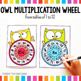 Owl Multiplication Wheel