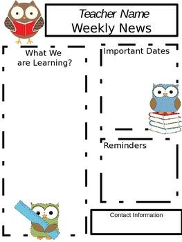 Owl Newsletter
