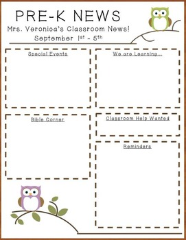 Owl Newsletter