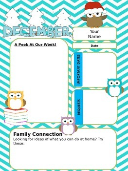 Owl Newsletters for the Year