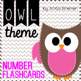 Owl Theme Numbers