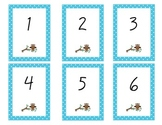 Owl Number ID Cards 1-30