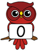 Owl Number Signs