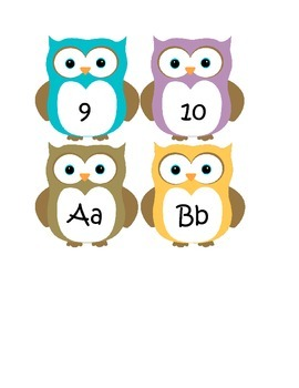 Owl Number and ABC