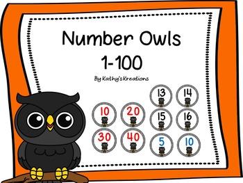 Owl Numbers 1-100