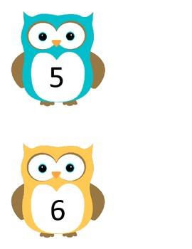Owl Numbers (1-200)