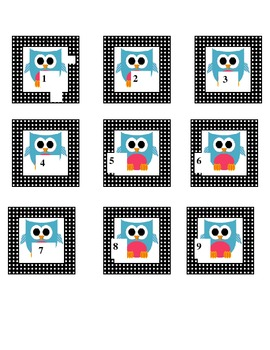 Owl Numbers 1-26
