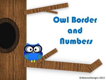Owl Numbers (100's Chart & Calendar)