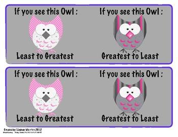 Owl Ordering