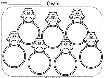 Owl Organizers, Writing, and Make Your Own Anchor Charts