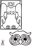 Owl Paper Bag Puppet