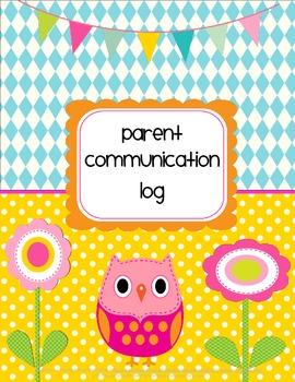 Owl Parent Communication Log