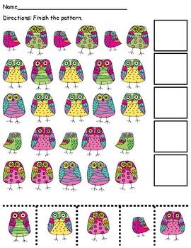 Owl Patterning