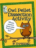 Owl Pellet Dissection Activity