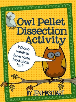 Owl Pellet Dissection Activity by Teaching FUNdamentals | TpT
