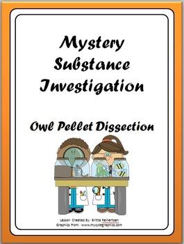 Owl Pellet Dissection & Investigation