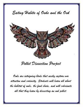 Owl Pellet Dissection - Lapbook - STEM Project