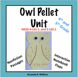 Owl Pellet Unit With Nonfiction Text and Interactive Notebook Folds