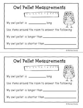 Owl Pellet Investigations Freebie